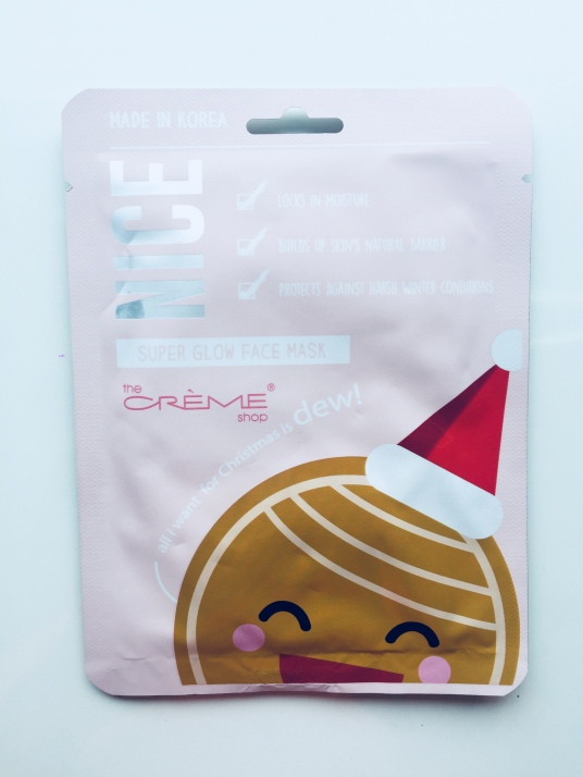 Sheet Mask 35 : All I want for Christmas is DEW! Nice